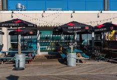 Bar na Boardwalk Zdjęcie Stock