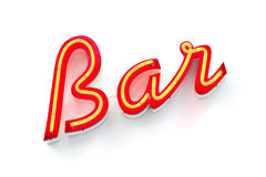 Free Bar Neon Sign Stock Photo - 21146730
