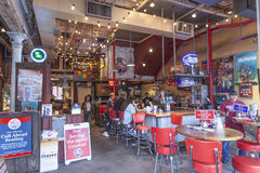 Bar in New Orleans, Louisiana Stock Photos
