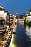 Bar night by Qinhuai River Stock Photo