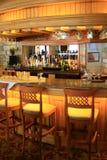 bar oświetlone Obraz Stock