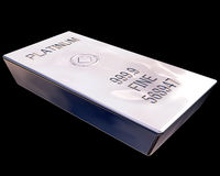 Free Bar Of Platinum Stock Photography - 5372442