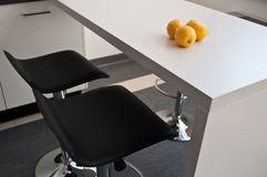 Bar in the office  kitchen. Bar in the kitchen for modern office Stock Photo