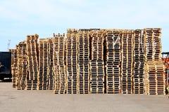 barłogi drewniani Zdjęcie Stock