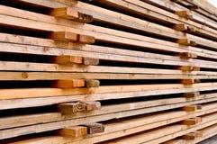 barłogi drewniani Fotografia Stock