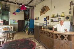 Bar in Old Havana stock images