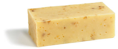 Bar of organic soap  Royalty Free Stock Images