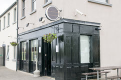 Bar ou taberna irlandesa Fotos de Stock