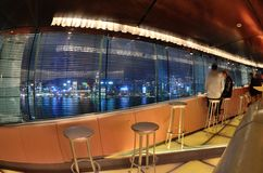 Bar Panorama interior design Stock Photo