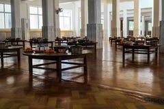 Bar para a escola da monge em Myanmar Imagem de Stock Royalty Free