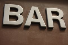 Bar in Paris Stock Image