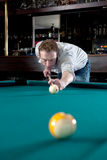 Bar pool Royalty Free Stock Images