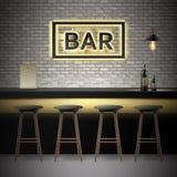 Bar, pub interior Stock Images
