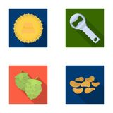 Bar, pub, restaurant, cafe .Pub set collection icons in flat style vector symbol stock illustration web. Stock Image