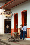Bar Quindio in Salento, Colombia Royalty Free Stock Photos