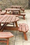 Bar R-U de places assises extérieur Photos libres de droits