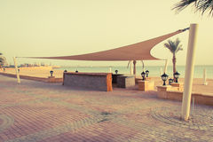 Bar on the Red Sea coast line Stock Photos