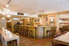 Bar in a restaurant Royalty Free Stock Photos