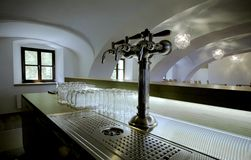 Bar restaurant Stock Image