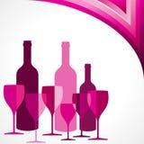 Bar and Restaurant menu design Stock Image
