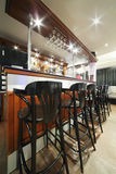 Bar in restaurant of Neva cinema Stock Images