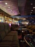 Bar in cruise ship stock photos