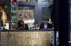 Bar restaurant reception royalty free stock photos