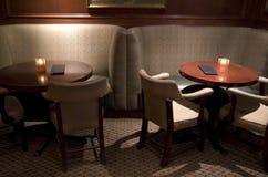 Bar restaurant table setting stock image
