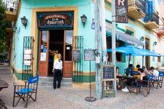 Bar, Restaurant, Tango Club in La Boca, Buenos Aires, Argentina stock photos