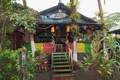 Bar and Restaurante in Tortuguero, Costa Rica Stock Photos