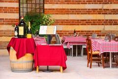 Bar Ristorante Della Ragione, Verona, Italy Stock Photography