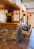 Drewniany bar Obraz Royalty Free