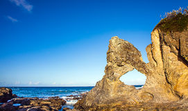 Bar Rock Lookout and Australia Rock Narooma Stock Images