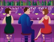 Bar scene Stock Image