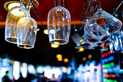 Bar Scene Royalty Free Stock Photos