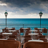 Bar on the sea Royalty Free Stock Image