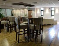 Bar seating Royalty Free Stock Photo