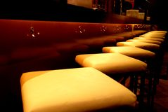 Bar seats Stock Images