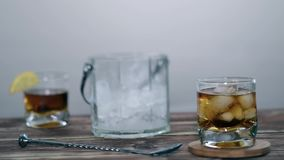 Bar, shaker, party, nightclub stock video