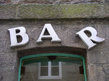 Free Bar Sign Stock Images - 256514