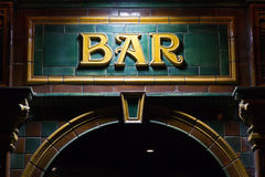 Free Bar Sign Stock Photos - 38328043