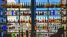 Bar spirits Stock Image