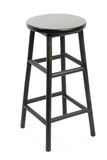 Bar stool isolated Royalty Free Stock Images
