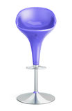 Bar stool on a white background. 3d. Royalty Free Stock Photography