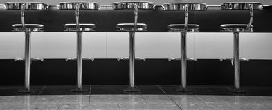 Bar stools Royalty Free Stock Photos