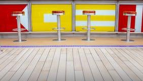 Bar stools Royalty Free Stock Image