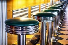 Bar stools. Old fashioned bar stools - photo Stock Photos