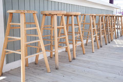 Bar Stools Royalty Free Stock Photography