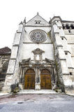 Bar-sur-Seine - Church Stock Photography