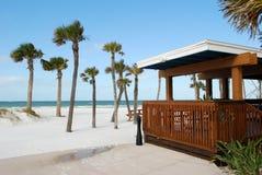 Bar sur une plage Photographie stock libre de droits